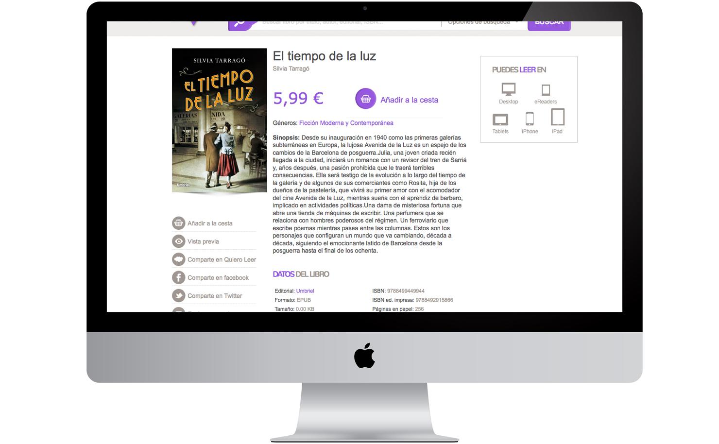 Ecommerce Amabook