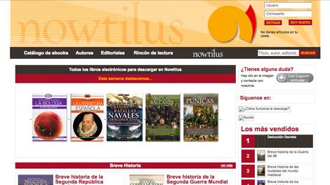 Proyecto eBooks Nowtilus