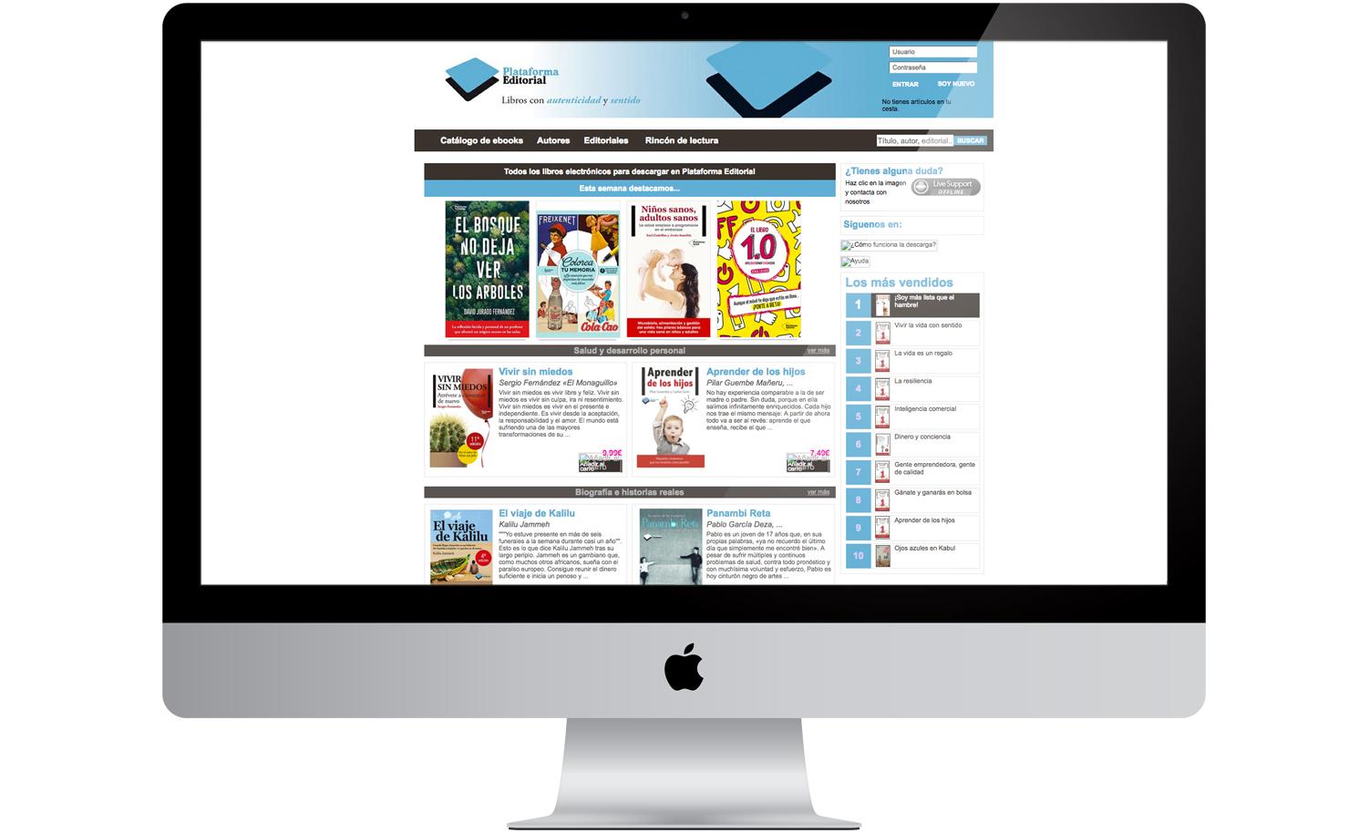 Proyecto Plataforma de lectura